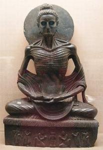 Buddha-ascete-Gandhara